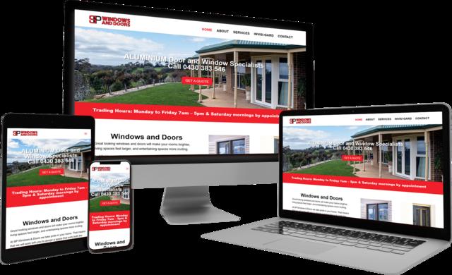 SP Windows & Doors - Barossa Valley - new website